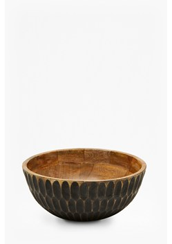 Carved Ellipse Bowl
