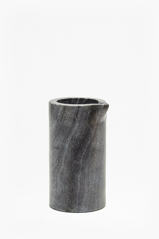 Complete the Look Black Marble Jug