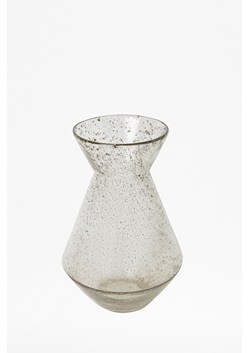 Small Luxe Recycled Glass Clear Trumpet Vase