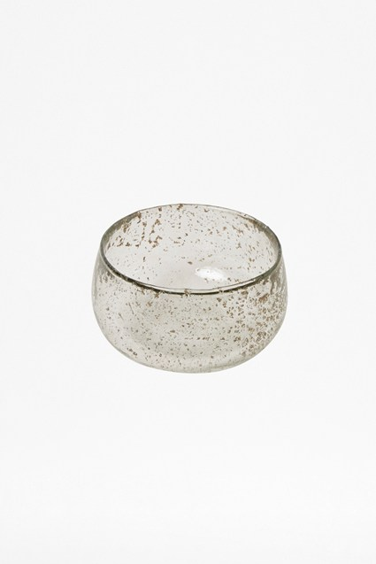 Luxe Clear Recycled Glass Bowl
