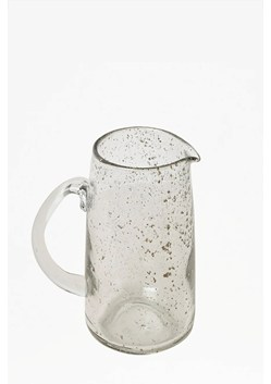 Luxe Recycled Glass Clear Pitcher