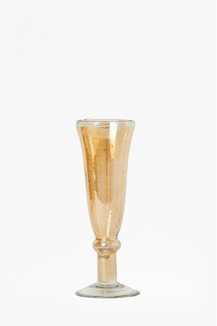 Luxe Blush Recycled Glass Champagne Flute