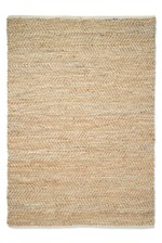 Looks Great With Jute and Leather Rug