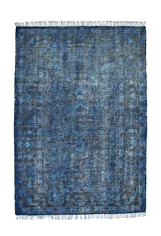 Solid Dyed Wool Textured Rug