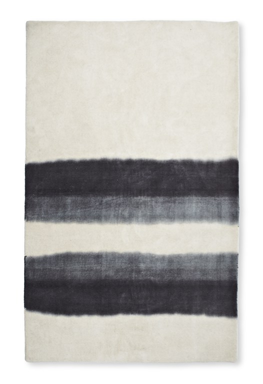 Grey Gradient Wool Rug
