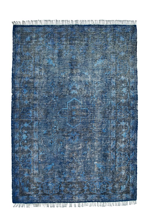 Complete the Look Solid Dyed Wool Textured Rug