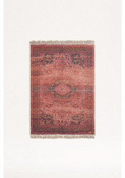 Medium Recycled Polyester Crimson Cassis Rug