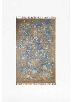Abstract Ocean Spray Rug