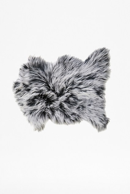 Grey Tipped Cashmere Pelt