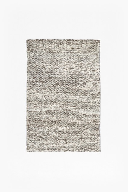 Knotted Cream Rug