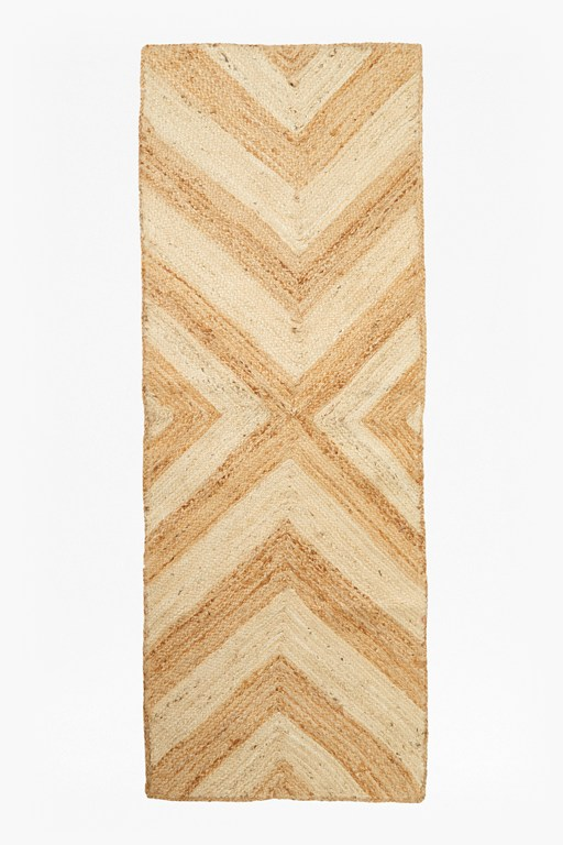 Complete the Look Chevron Jute Runner