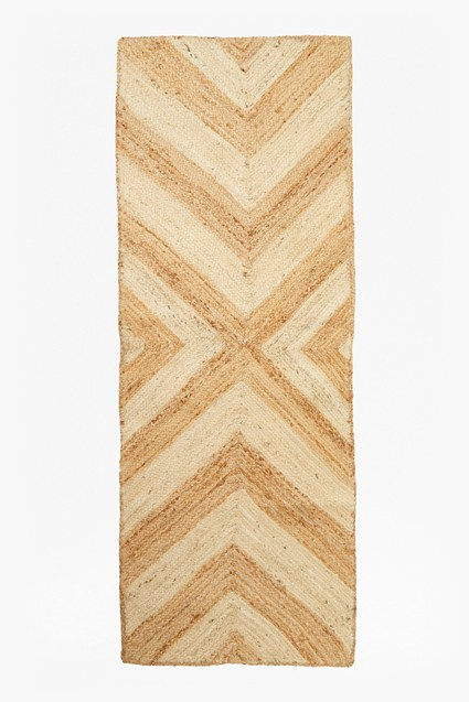 Chevron Jute Runner