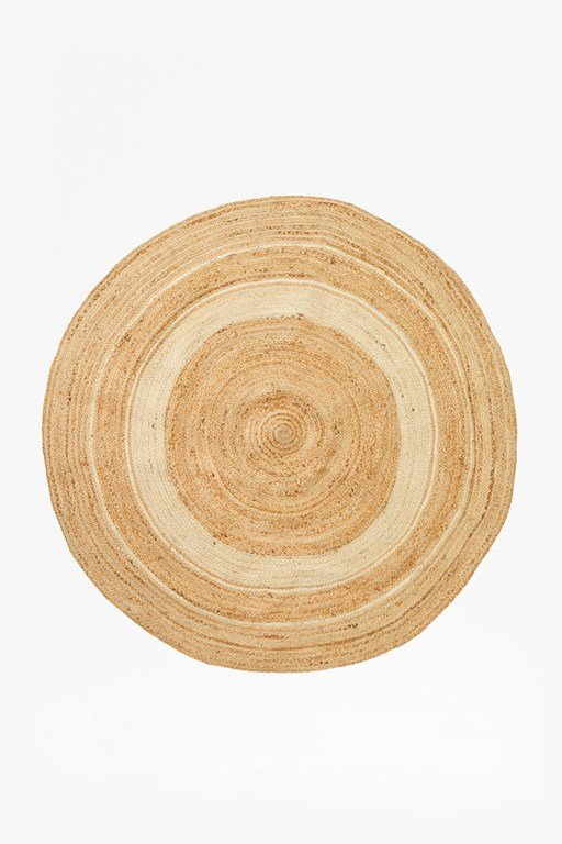 Complete the Look Sun Halo Round Jute Rug