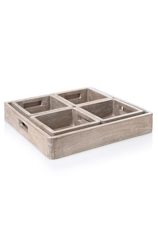 4 Part Storage Tray