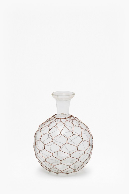 Complete the Look Copper Wire Bottle Round