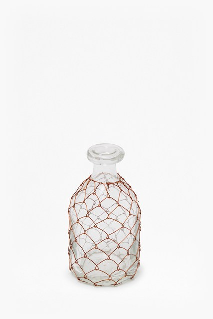 Copper Wire Bottle Small