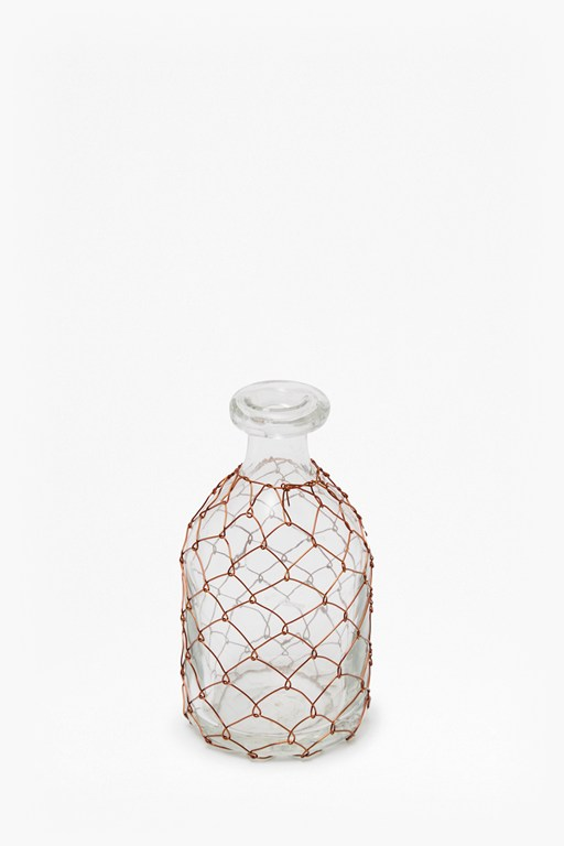 Complete the Look Copper Wire Bottle Small