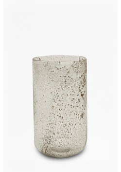 Large Luxe Recycled Glass Cylinder Vase