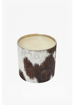Natural Cowhide Candle