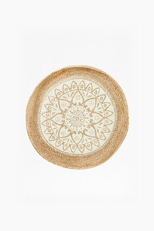 mandala large wall basket