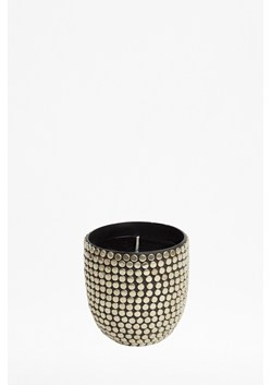 Silver Studded Candle