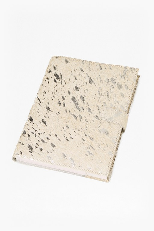 cowhide notebook