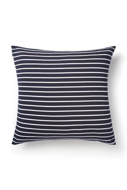 Reverse Stripe Jersey Cushion