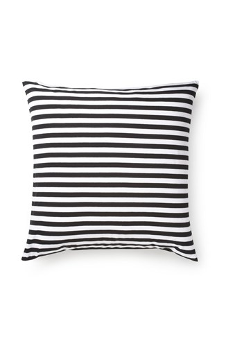 Classic Stripe Jersey Cushion