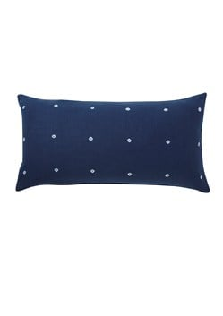 Indigo Dotted Cushion