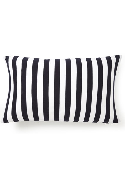 Tall Stripe Jersey Cushion