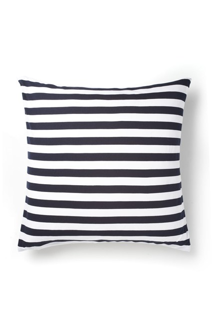 Wide Stripe jersey Cushion