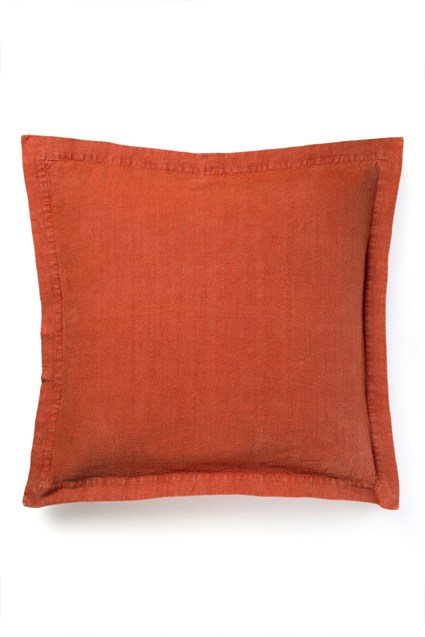 Distressed Oxford Linen Cushion