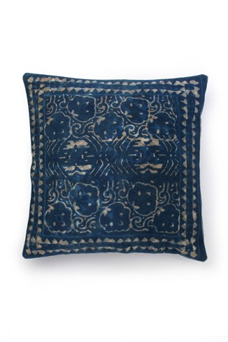 Cotton Dabu Print Cushion