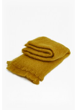 Ochre Mohair Throw