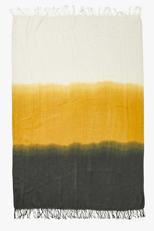 carbon dawn dip dye throw