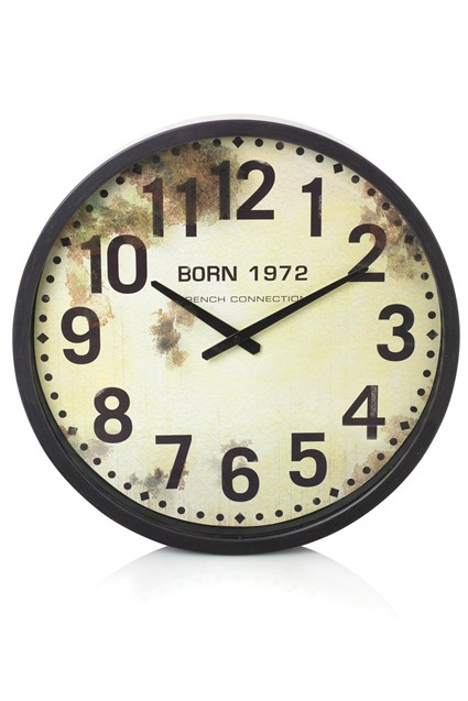 Born FC Cased Wall Clock