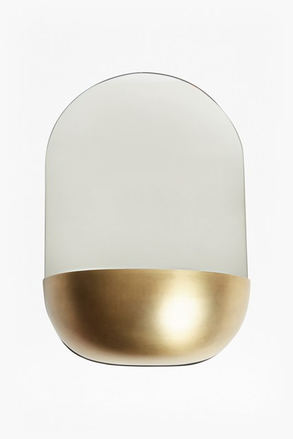 Gold Bowl Mirror