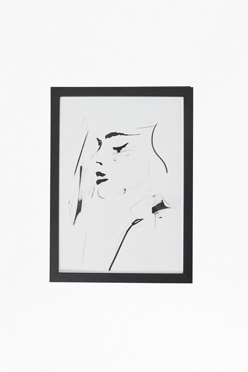 Complete the Look Small Framed Female Portrait Print 30X40