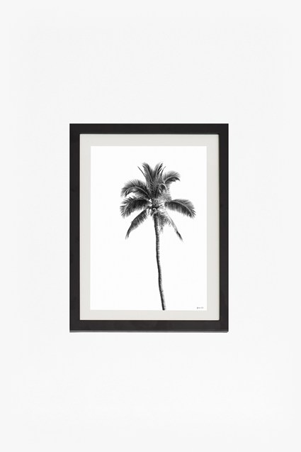 Small Framed Palm Springs Print 30X40