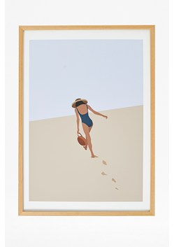 Framed Walk Away Print 50X70