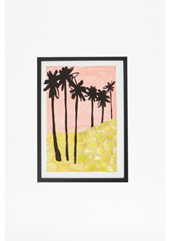 Framed Palm Tree Views Print 30X40