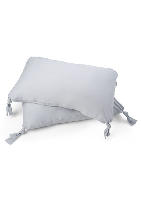 Tied Edges Pillowcases (x2)