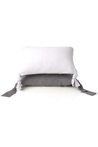 Tied Edges Scatter Cushion