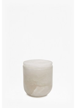 Straight Alabaster Filled Votive