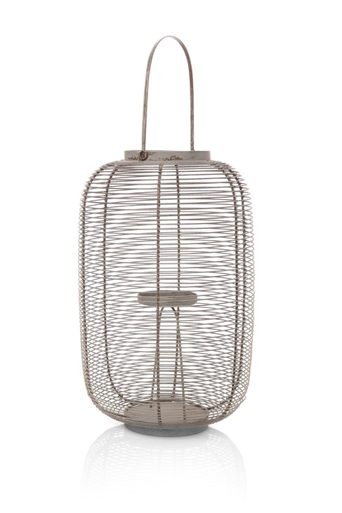 Wire Hurricane Lantern