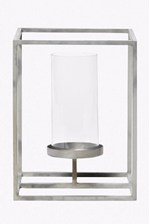 Looks Great With Cube Hurricane Candle Holder - Small