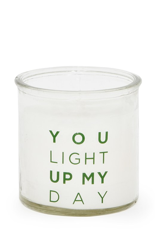 You Light Up My Day Candle