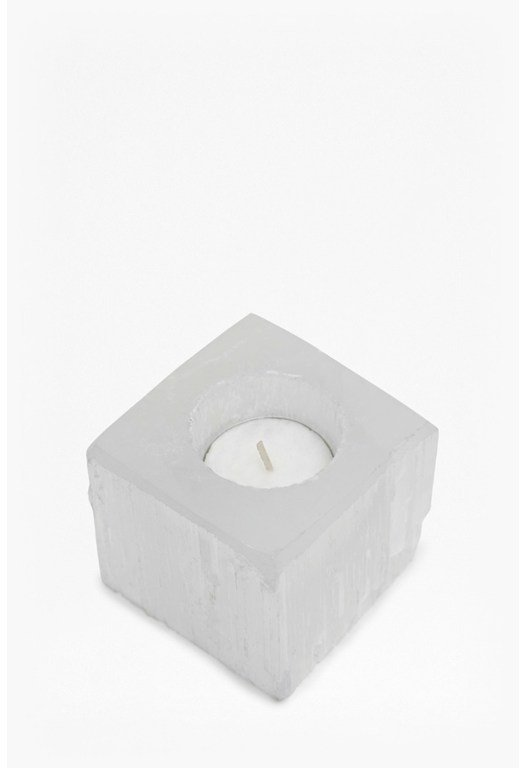 Crystal Cube Tea Light Holder