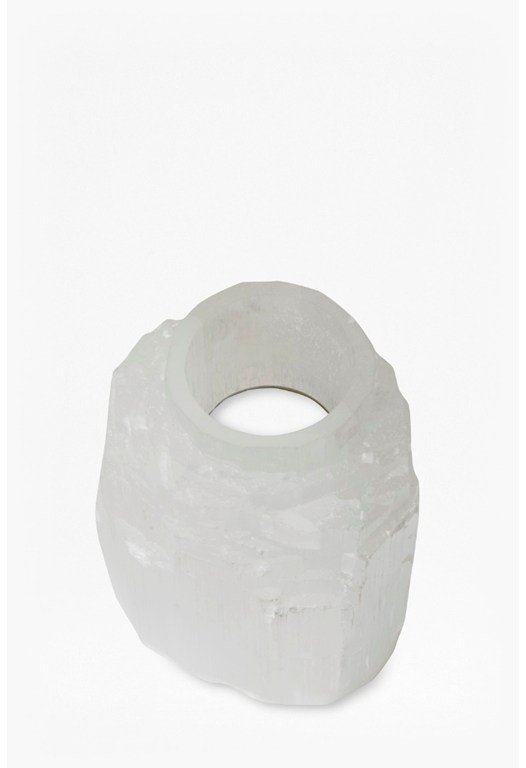 Crystal Iceberg Tea Light Holder