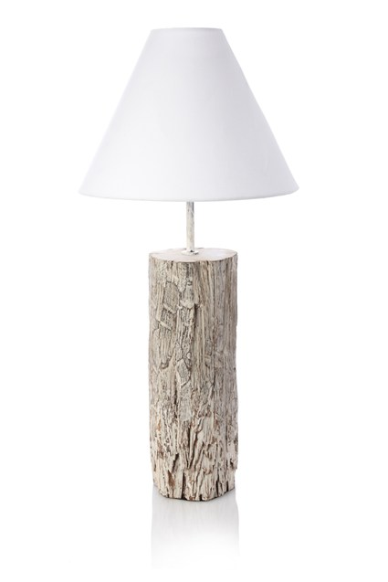 Whitewash Mango Table Lamp